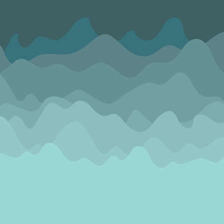 Blue wave abstract background. Vector illustration.