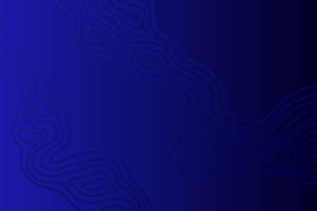 Blue wave pattern. Abstract gradient background. Vector illustration.