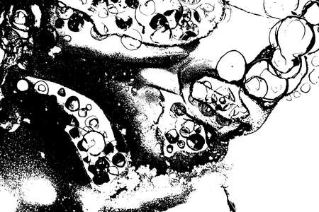 Ink drops vector texture. Grunge watercolor background.