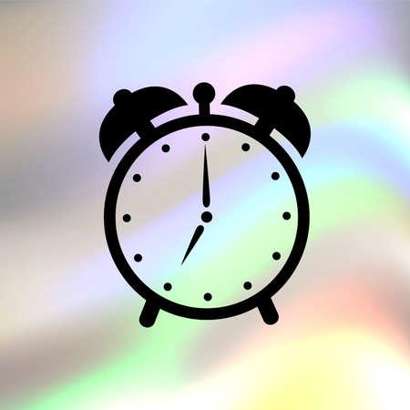 alarm clock vector icon Vector