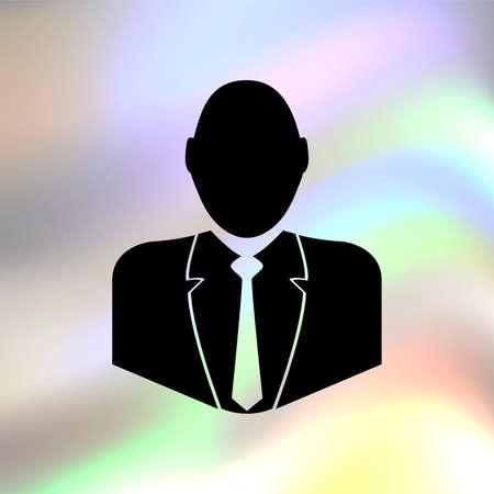 Businessman vector icon Vector