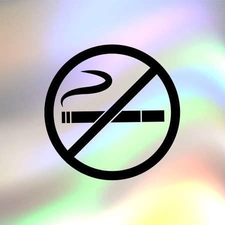 no smoking vector icon Vector
