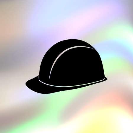 안전 하드 모자 벡터 아이콘