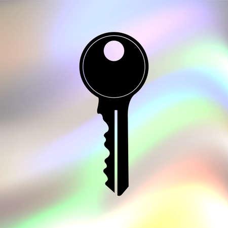 10 key: key vector icon