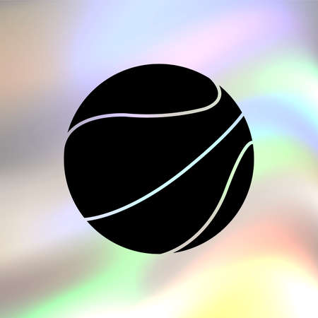 objects with clipping paths: basketball ball Illustration