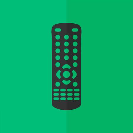 gps device: remote control icon. Flat design Illustration