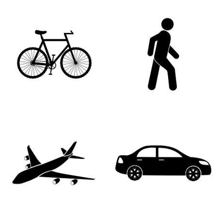 transportation icons: Transportation icons  vector set