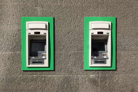 bancomat:  ATM machines