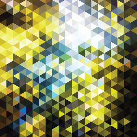 constructive: background with color mosaic triangles