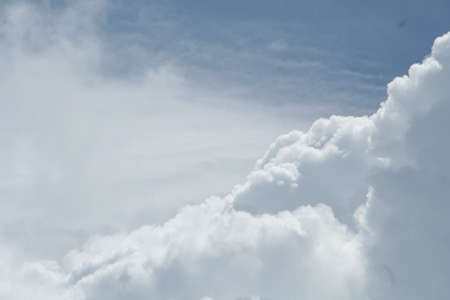 雲の形成 写真素材
