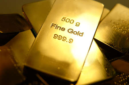 Some gold bars  Stock Photo - 11713498