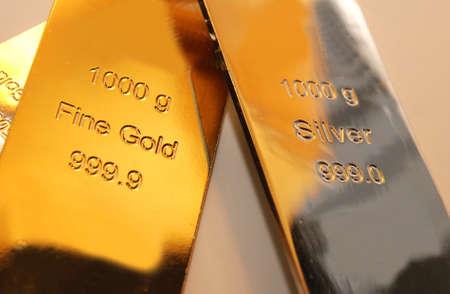 precious metal: Some gold bars