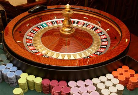 roulette wheel: Casino, roulette