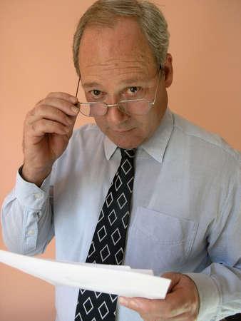 Portrait of a senior businessman.