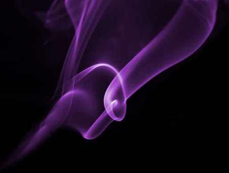 Purple smoke,great for background         Stock Photo