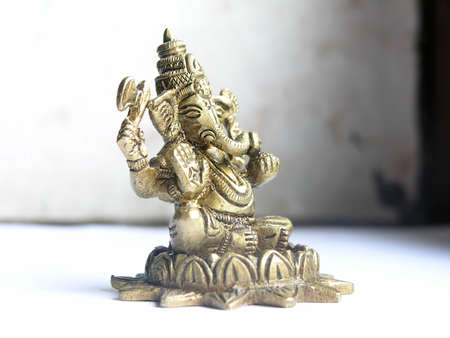 Ganesha.Hindu God of Success. Stock Photo