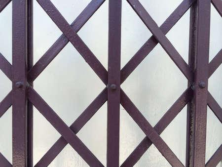 steel: A steel door pattern.