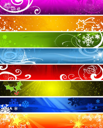 christmas banner with space for text 2 photo