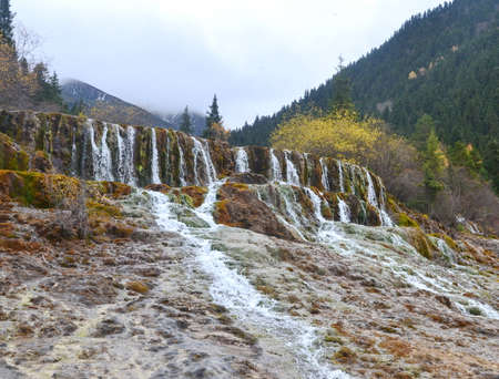 Jiuzhai Valley is most renowned for its stunning natural scenery of colorful lakes, mature forests, and spectacular waterfalls.