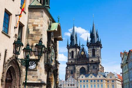 Prague. Tyn Church. photo