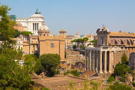 forum: Rome.Italy.The Roman forum.