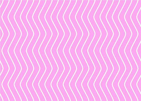 Alternate zigzag lines of pink and white, Alternation of pink and white stripes seamless pattern, Modern style pattern, Sweet style, Cute pattern vector for Gift wrapping paper Tablecloth or drapery