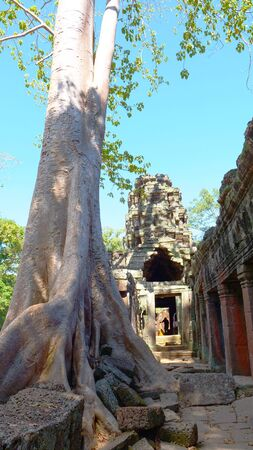 Banteay Kdei, part of the Angkor wat complex in Siem Reap, Cambodia