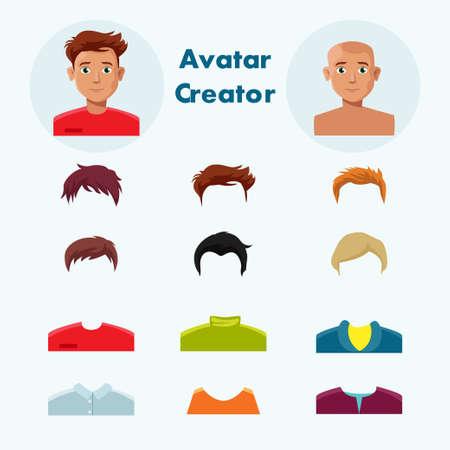 creador: Hombre - avatar -creator Vectores
