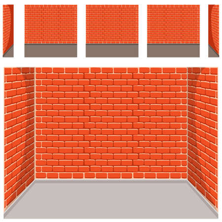 empty room background: seamless Empty room background Illustration