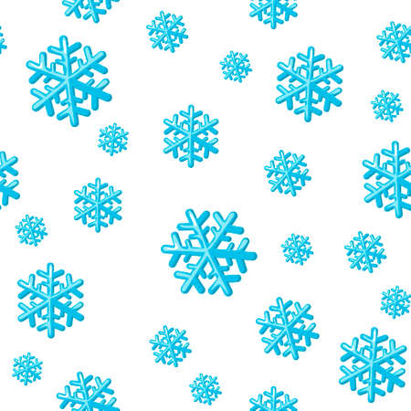 Christmas seamless pattern with snowflakes. Snowflake pattern for packaging paper, prints, scrapbooking. 向量圖像