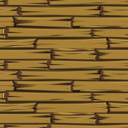 Seamless texture wooden planks, brown old floor.
