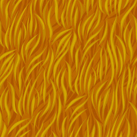 Grass seamless pattern, texture of dry grass waves for wallpaper. Vectores
