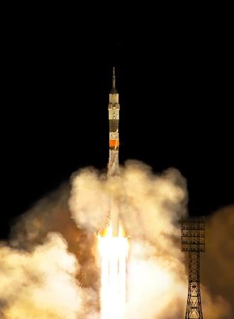 cohetes: Inicio de cohete Foto de archivo