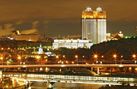 Moscow night Stock Photo - 11553453