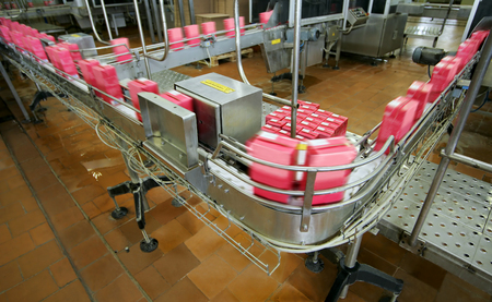 food and drink industry: conveyor line