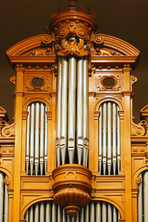 large group of object: Organ