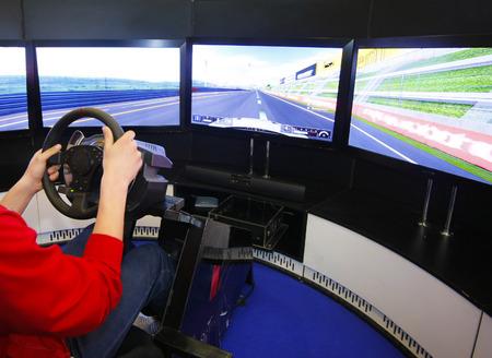 simulator: Game racing simulator
