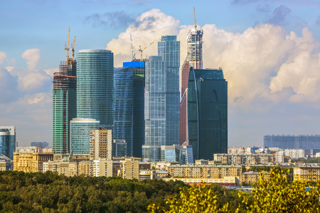 Moscow cityscape - Moscow City