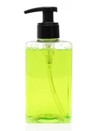 liquid soap: liquid soap Stock Photo
