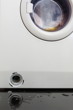 Clogged washing machine photo