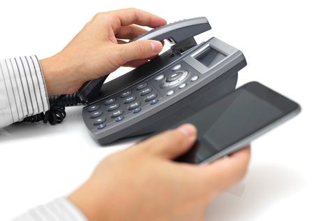 landline phone: landline telephone and mobile phone support