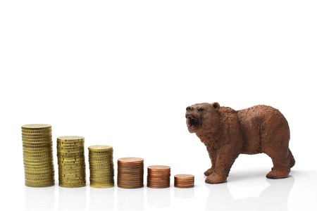 bear market: bear market Stock Photo