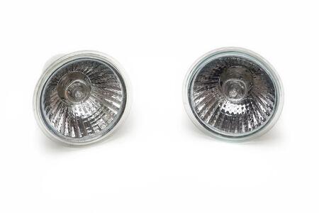 Halogen light bulb                                 Stock Photo