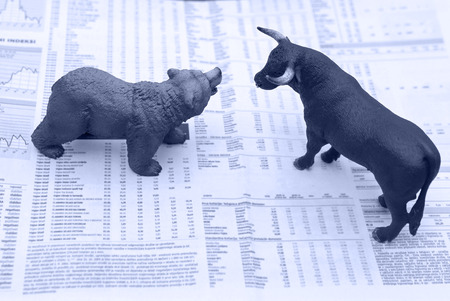 market trends: concept of stock market