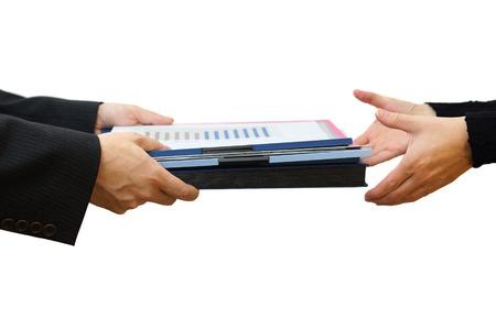 carpetas: Folder Entrega del archivo, el concepto de trabajo en equipo