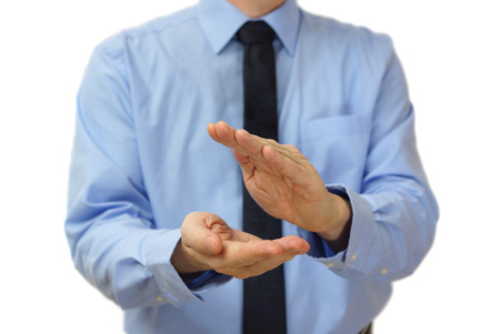 businessman clapping photo