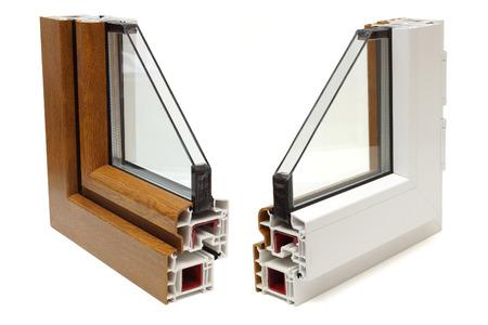 プラスチック窓のプロフィール