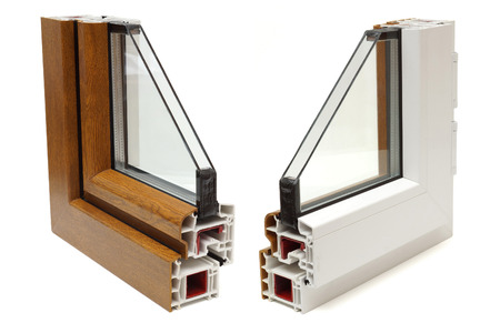 glazing: plastic windows profile