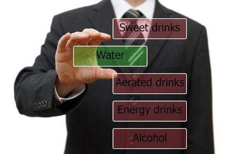 healty: live healty life drink water