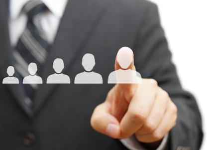 strategy: Empresario tocar persona virtual. La promoci�n, dotaci�n de personal, el concepto de carrera